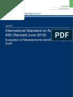 ISA (UK) 450 Revised June 2016 Final