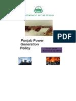 Punjab Power Generation Policy 2006