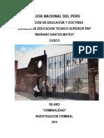 CRIMINALIDAD PNP CUSCO