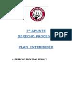 7º Apunte Procesal Plan Intermedio Procesal Penal i
