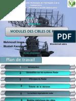 radar (modele des cibles)