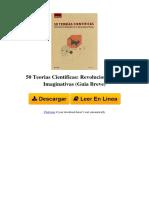 50 Teorias Cientificas Revolucionarias e Imaginativas Guia Breve by Paul Parsons Dr