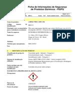 FISPQ - Lubrax TRM 4 - Óleo Para Engrenagens
