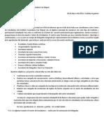 Nota Presentacion Centro Estudiantil