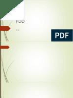 PDD Drilling