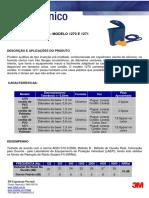 Boletim Técnico 3M Mod 1270 e 1271 CA 9584