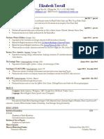 Trovall Resume 12.14.17