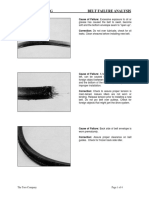Belt Failure Analysis