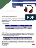 Boletim Técnico 3M Muffler VIDA ÚTIL 14235