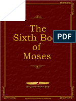 6th Book of Moses