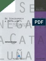 De Senegambia a Cataluña Kaplan