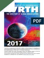world radio tv handbook 2017  supplement  including a17schedules