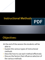 HE C11-A Instructional Methods