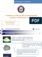Synthesis of Chitosan-Silver Nanocomposites and Their Antibacterial
