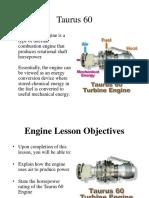 pengetahuan Dasar Turbine Gas tipe Taurus 60 Solar Turbine