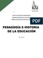 Pedagogía e Historia de La Educación Parte 1