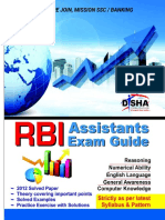 RBI Assistants Exam Preparation Guide (Www.aimbANKER.com)