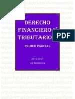 Derecho Financiero II- Primer Parcial
