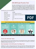 Cloud 1Z0-160  Practice Questions - PDF + Online Practice Test