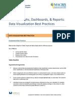 Dataviz Best Practice