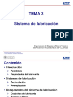 Tema 3 Subsistemas - Sistema de Lubricación