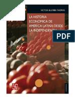 La historia económica de América Latina desde la Independencia - Bulmer-Thomas, Victor (1).pdf