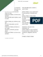 ENTÃO É NATAL - Simone (Impressão)
