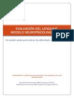 Evaluación del lenguaje  modelo nuerolingüístico