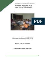 Con Quien Trabajamos en La Comuna Tres Villavicencio EGG