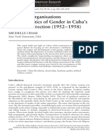 Chase, M; women's organisations and the politics of gender in cuba's urban insurrection.pdf