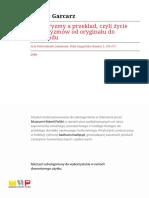 Garcarz - Wulgaryzmy a Przeklad