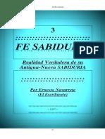 4.3. FE SABIDURIA