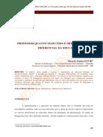 Professor, quanto mais cedo melhor? O papel diferencial da Educação Bilíngue. FCU - USA / UCAM / UNITLÁNTICO