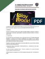 Bases Del Concurso Playback