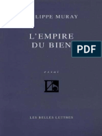 L'Empire Du Bien - Philippe Muray