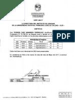 Certificado ILUD 2004