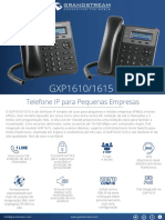 Gxp1610-1615 Portuguese Datasheet