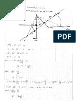 Deducción de La Fórmula y Problema Referente Al Desplazamiento Por Inclinación