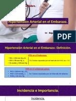 Hipertensión Arterial Durante El Embarazo 2017.