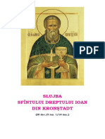 Slujba Sf. Ioan Din Kronștadt
