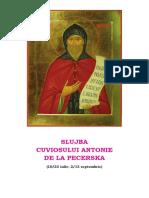 Slujba Sf Antonie