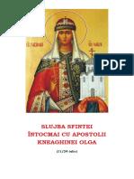 Slujba Sf Olga