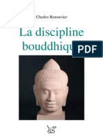 Charles Renouvier La Discipline Bouddhique