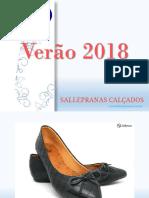 Catalogo 2018 Sallepranas Atacado 60pares.