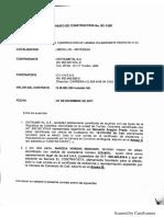 Formato de Contrato de Lamina
