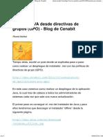 Instalar JAVA Desde Directivas de Grupos (GPO) - Blog de Cenabit