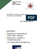 MATERIA Estados y Composicion, Estructura Atómica