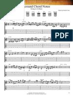 Around Chord Notes
