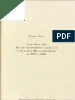 Primera Parte Capitulos Del 1 Al 5 El Caf en Colombia 18501970 Tercera Edicin