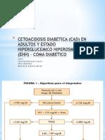 Cetoacidosis Diabetica (Cad) en Adultos y